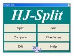 دانلود HJSplit v3.0 نرم افزار به هم چسباندن و تکه تکه کردن فایل های حجیم