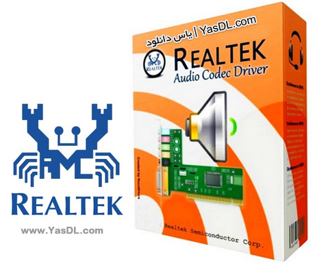 دانلود درایور کارت صدا Realtek High Definition Audio Drivers Vista/7/8.x/10 WHQL