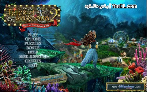 دانلود بازی Tales of Lagoona 2 Peril at Poseidon Park برای PC