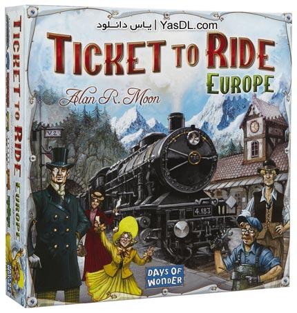 دانلود بازی Ticket To Ride برای PC