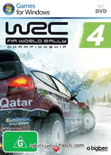 دانلود بازی WRC 4 FIA World Rally Championship برای PC
