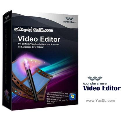 دانلود Wondershare Video Editor 5.1.2.14 - ویرایش فایل های ویدئویی