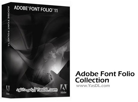 دانلود Adobe Font Folio v11 Font Collection - مجموعه عظیم فونت های ادوب