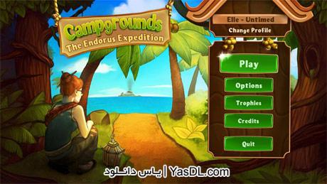دانلود بازی کم حجم Campgrounds The Endorus Expedition برای PC