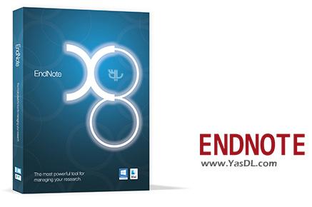 دانلود Endnote X8 Portable - نرم افزار مدیریت اطلاعات و مستندات