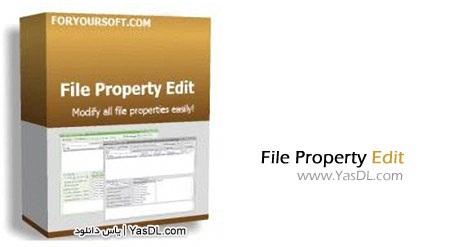 دانلود File Property Edit Pro 3.80 ویرایش خصوصیات فایل ها