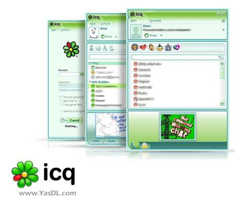 دانلود ICQ v8.2 Build 7135 - برنامه مسنجر چت اینترنتی