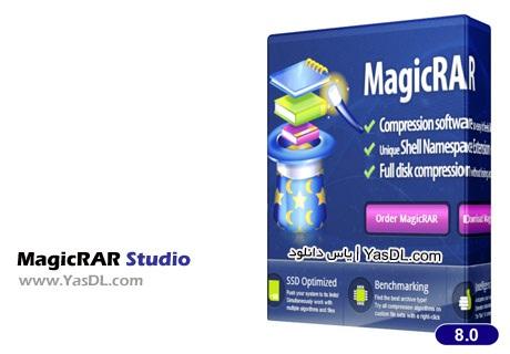 دانلود MagicRAR Studio 10 Build 4.1.2013 نرم افزار مدیریت فایل