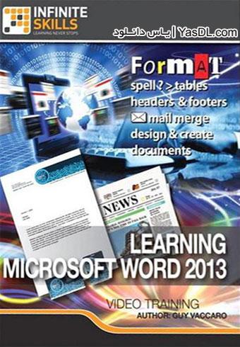 دانلود فیلم آموزش ورد Learning Microsoft Word 2013