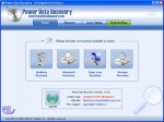Power Data Recovery Screen