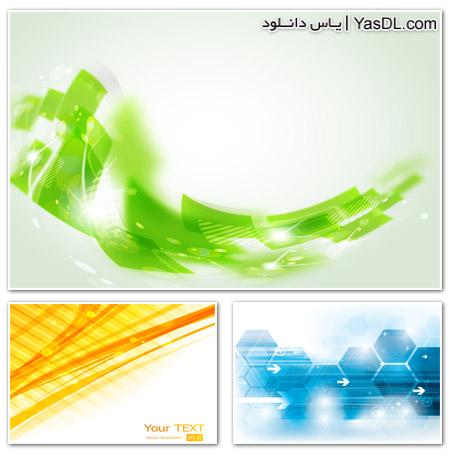 دانلود مجموعه 25 وکتور گرافیکی با کیفیت مناسب پس زمینه