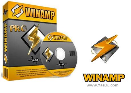 دانلود Winamp Pro وینمپ نرم افزار پخش آهنگ