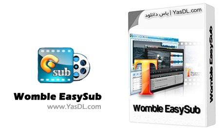 دانلود Womble EasySub 2.0.0.108 - نرم افزار ویرایش فایل های زیرنویس