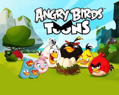 دانلود دوبله فارسی گلوری انیمیشن پرندگان خشمگین Angry Birds Toons 2013