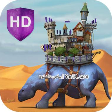 دانلود بازی کم حجم Roaming Fortress برای PC