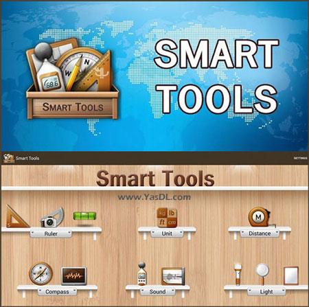 دانلود Smart Tools 2.0 build 86 + Mod - مجموعه ابزارهای کاربردی برای اندروید