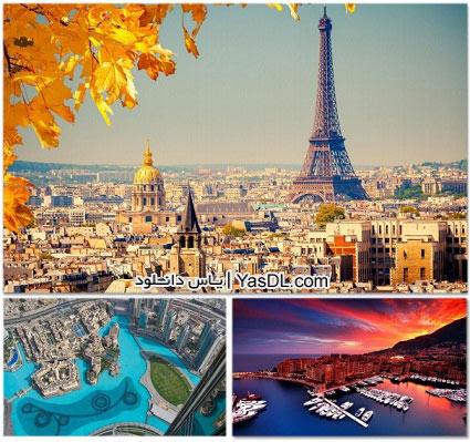 دانلود مجموعه 75 والپیپر شهرهای بزرگ جهان Unbelievable Cityscapes HD Wallpapers