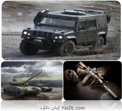 دانلود 40 والپیپر سلاح و تکنولوژی نظامی Powerful Weapons HD Wallpapers
