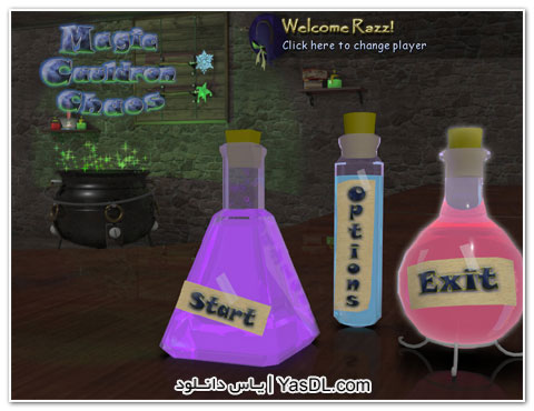 دانلود بازی کم حجم Magic Cauldron Chaos برای PC