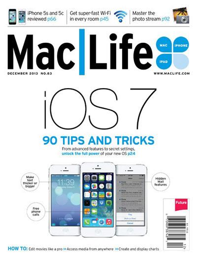 دانلود مجله MacLife شماره 83 - دسامبر 2013 با فرمت PDF