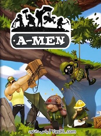 دانلود بازی A-Men برای PC