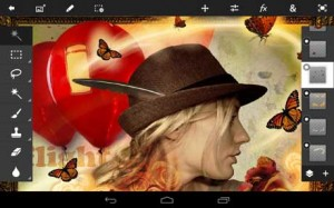دانلود برنامه فتوشاپ برای اندروید Adobe Photoshop Touch v1.5.0
