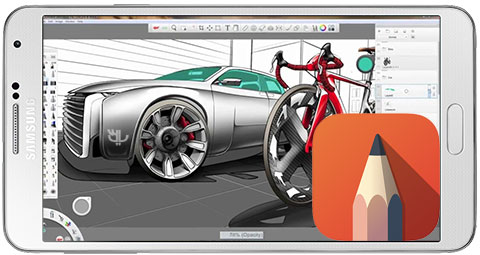 دانلود Autodesk SketchBook Pro Full طراحی حرفه ای برای اندروید