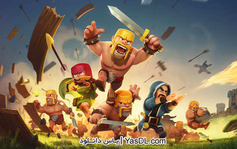 Clash Of Clans Game 13.180.10 Clash Of Clans Android Game + Modded