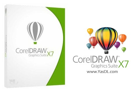 دانلود CorelDRAW Graphics Suite X7 17.2.0.688   کورل دراو