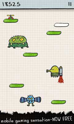 Doodle Jump 3.10.8 - Doodle Jump For Android + Infinite Edition
