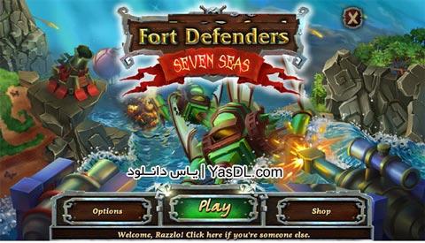 دانلود بازی کم حجم Fort Defense 2 Seven Seas برای PC
