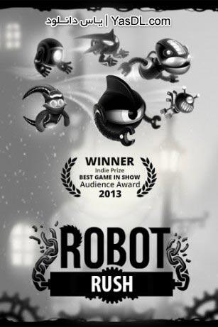 دانلود بازی Robot Rush for Tango 1.0.5 برای آندروید