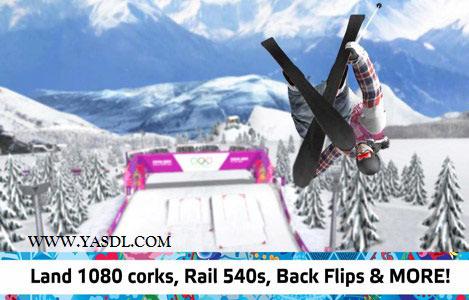 دانلود بازی Sochi 2014: Ski Slopestyle v1.01 برای اندروید