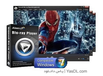 دانلود Aiseesoft Blu-ray Player 6.2.62 - نرم افزار پخش فیلم های بلوری