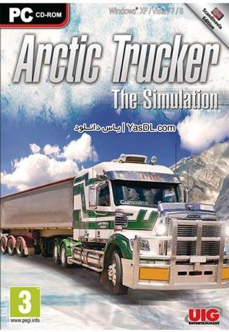 دانلود بازی Arctic Trucker The Simulation 2014 برای PC
