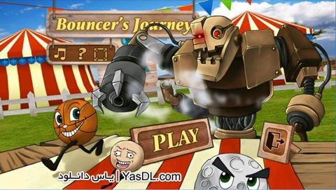 دانلود بازی کم حجم Bouncers Journey برای PC
