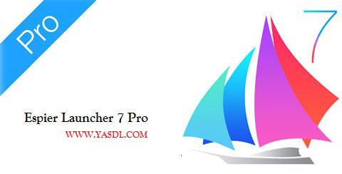 دانلود لانچر ایفون برای اندروید Espier Launcher 7 Pro v1.4.1