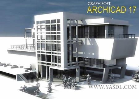 دانلود ArchiCAD v17 x64   نرم افزار آرشیکد طراحی سه بعدی