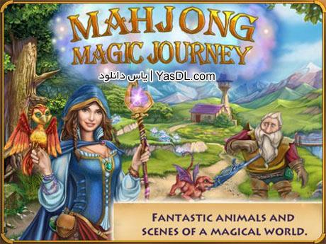 دانلود بازی کم حجم Mahjong Magic Journey برای PC