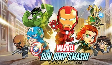 دانلود بازی Marvel Run Jump Smash v1.0.1 برای اندروید