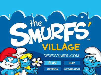 دانلود بازی Smurfs Village v1.3.7 - بازی اسمورف ها برای اندروید