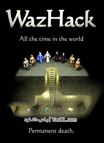 دانلود بازی کم حجم WazHack برای PC