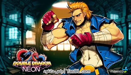 دانلود بازی Double Dragon Neon 2014 - بازی شورش در شهر برای کامپیوتر