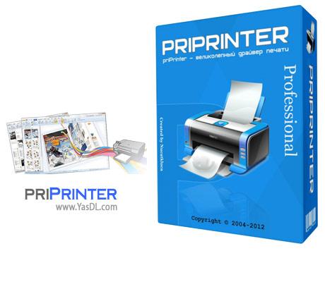 دانلود priPrinter Professional 6.4.0.2405 - پرینتر مجازی