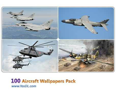 دانلود مجموعه 100 والپیپر هواپیما Aircraft Wallpapers Pack