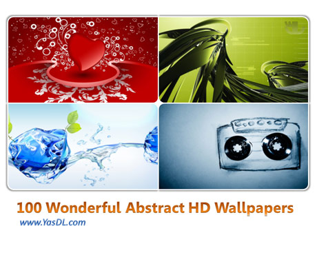 دانلود مجموعه 100 والپیپر شگفت انگیز Wonderful Abstract HD Wallpapers