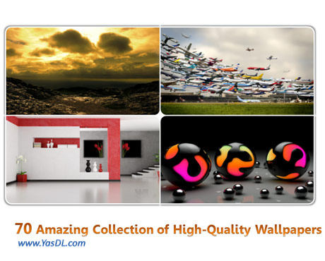 دانلود مجموعه 70 والپیپر گوناگون Amazing Collection of High-quality Wallpapers