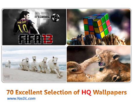 دانلود مجموعه 70 والپیپر گوناگون Excellent Selection of HQ Wallpapers