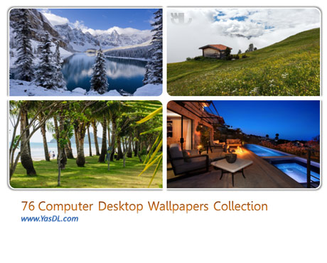 دانلود مجموعه 76 والپیپر طبیعت Computer Desktop Wallpapers Collection