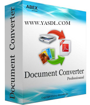 دانلود Abex Document Converter Pro 3.4.0 - نرم افزار تبدیل فرمت اسناد